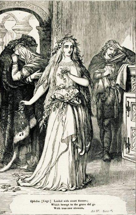 Selous. Офелия (Шекспир - Гамлет)