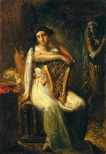 Theodore Chasseriau. Дездемона (Шекспир - Отелло)