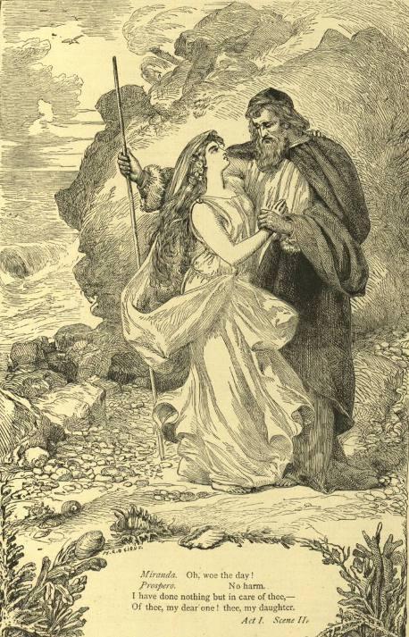 Миранда и Просперо (Шекспир - Буря)