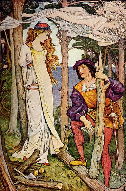 Миранда и Фердинанд (Шекспир - Буря)
