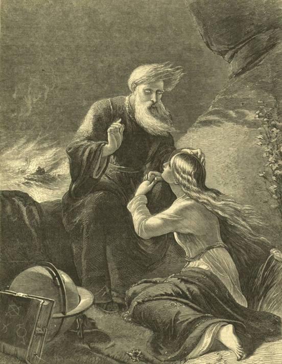 Просперо и Миранда (Шекспир - Буря)