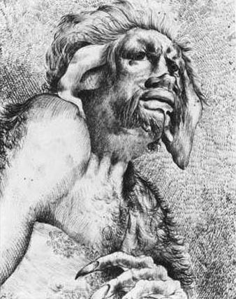 John Hamilton Mortimer - Калибан (Шекспир - Буря)