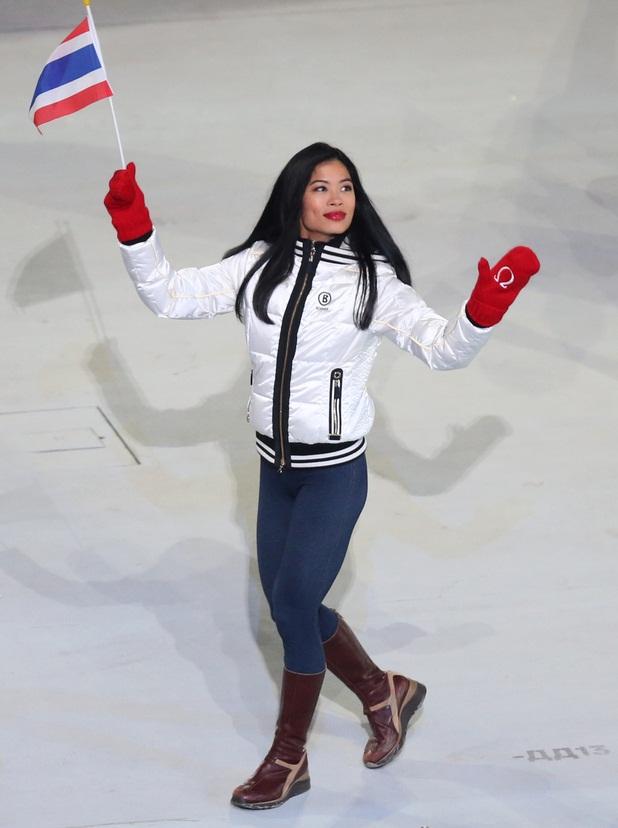 Ванесса Мэй-Ванакорн на открытии Олимпийских игр в Сочи