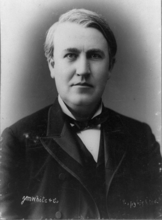 a biography and life work of thomas alva edison an american businessman