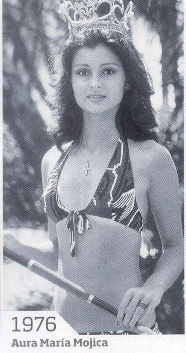 Аура Мария Можика / Aura María Mojica - Мисс Колумбия 1976