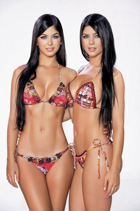 сестры модели Камилла и Марианна Давалос / Camila & Mariana Davalos фото