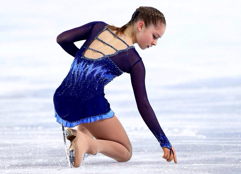 Юлия липницкая видео сочи короткая программа фото 664-16