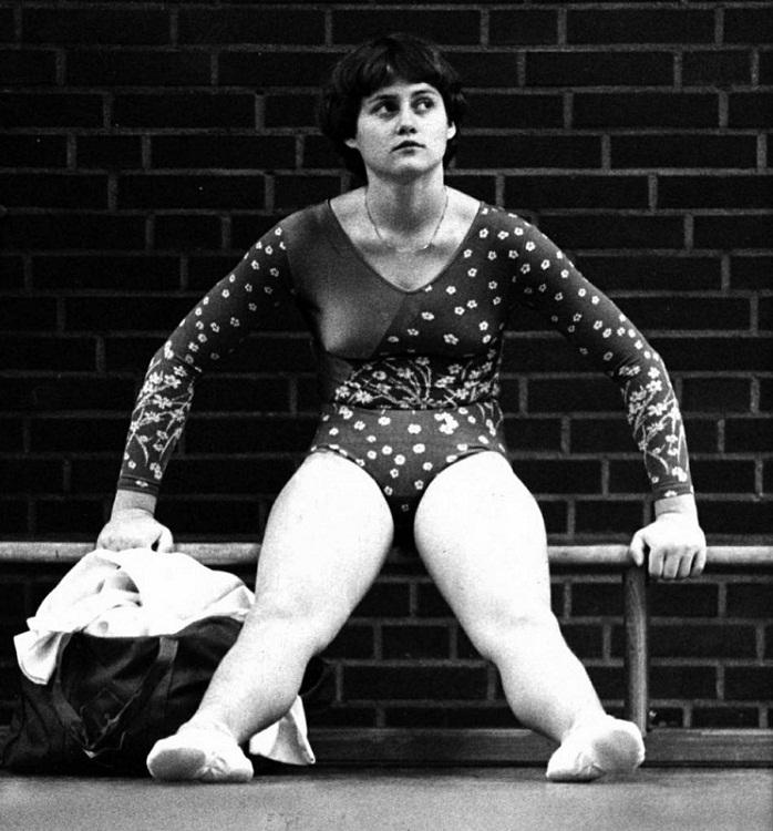 румынская гимнастка Надя Команечи фото