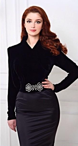Самая красивая осетинская девушка модель Анна Гуриева фото