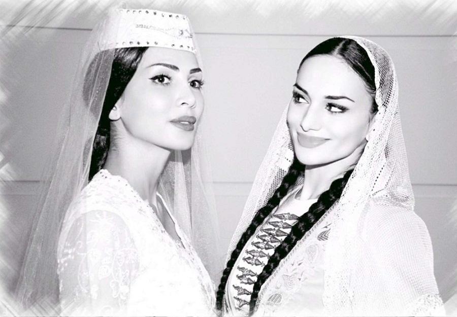 Нонна Базиева и Дина Бекоева фото