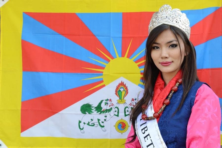 Tenzin Yangzom - Мисс Тибет 2014 фото