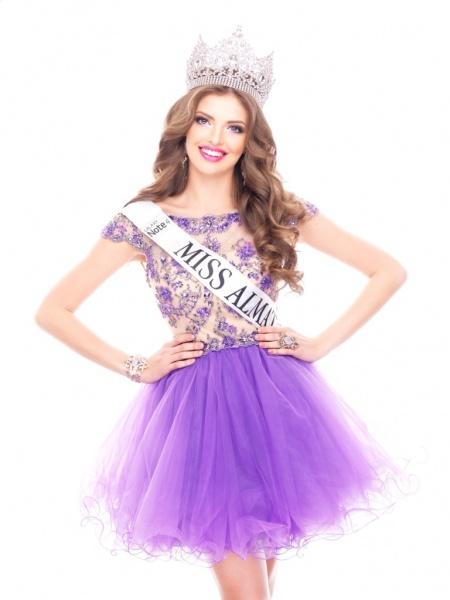 Регина Вандышева (Алматы) победительница Мисс Казахстан 2014 фото