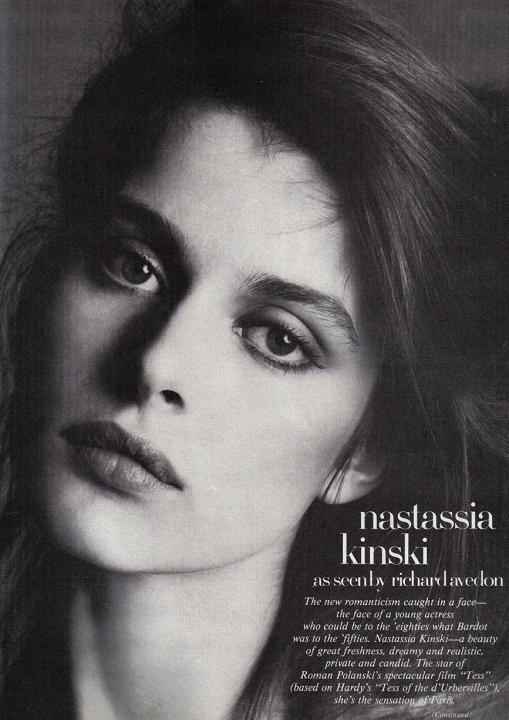 ����� �������� ������ - �������� ������ ���� / Nastassja Kinski