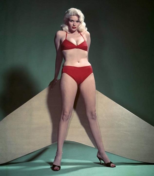 Джейн Мэнсфилд / Jayne Mansfield в купальнике фото