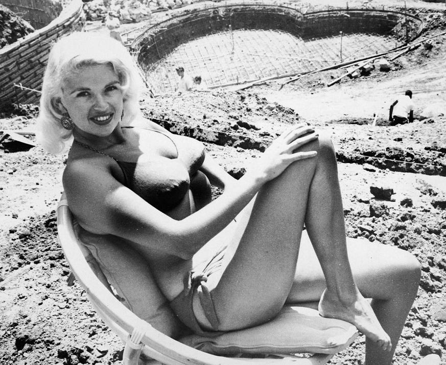 Джейн Мэнсфилд / Jayne Mansfield в бикини фото