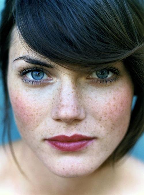 красивая шведская женщина Мини Анден / Mini Andén. фото