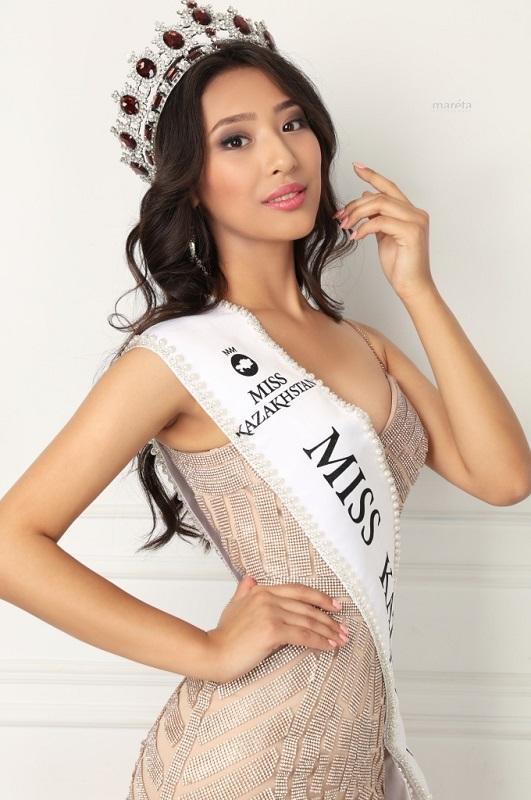 Альфия Ерсайын Мисс Казахстан 2018 фото