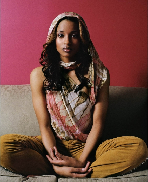 американская темнокожая певица Сиара фото / Ciara photo