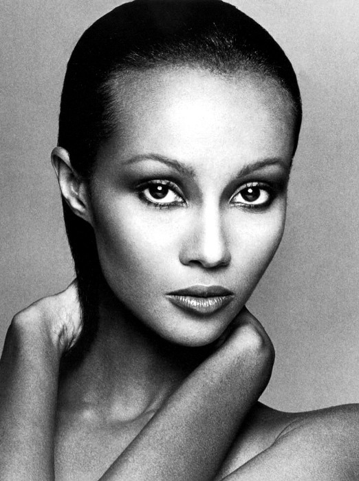 фотомодель Иман (эфиопская малая раса). Фото / model Iman photo