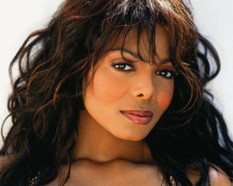 красивая негритянка Джанет Джексон фото / Janet Jackson photo