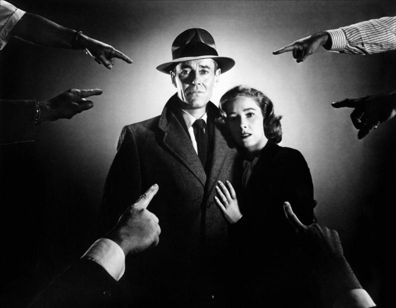 Генри Фонда и Вера Майлз (Не тот человек, 1953)