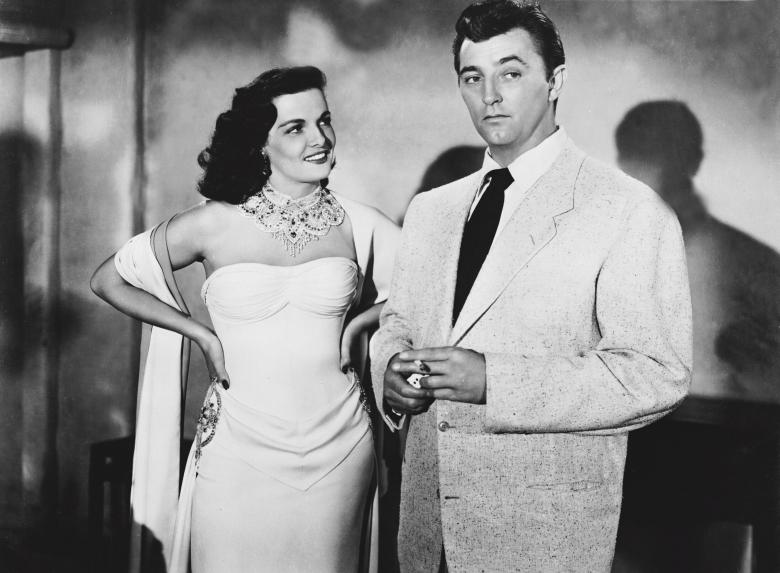 Роберт Митчем и Джейн Рассел (Макао, 1952) фото