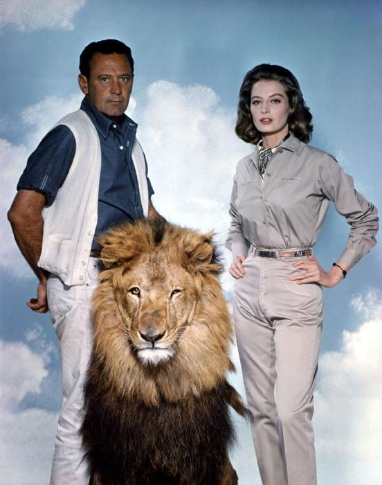 Уильям Холден и Капучине  (Лев, 1962) фото