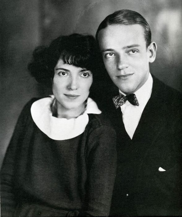 Фред Астер с сестрой Адель