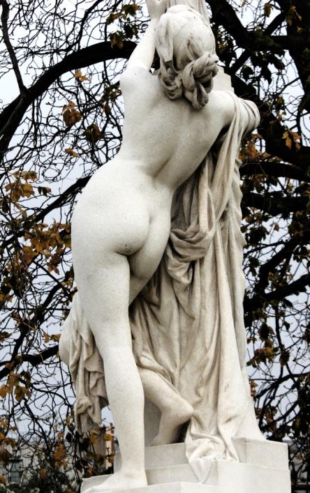 Aime Mille. Кассандра прибегает к защите алтаря Афины