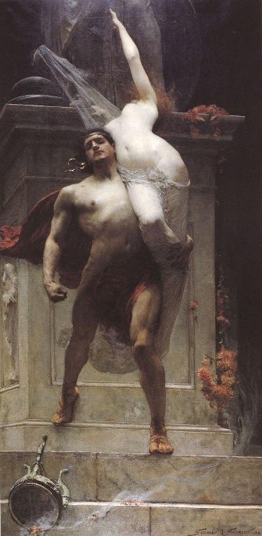Solomon Joseph Solomon. Аякс и Кассандра