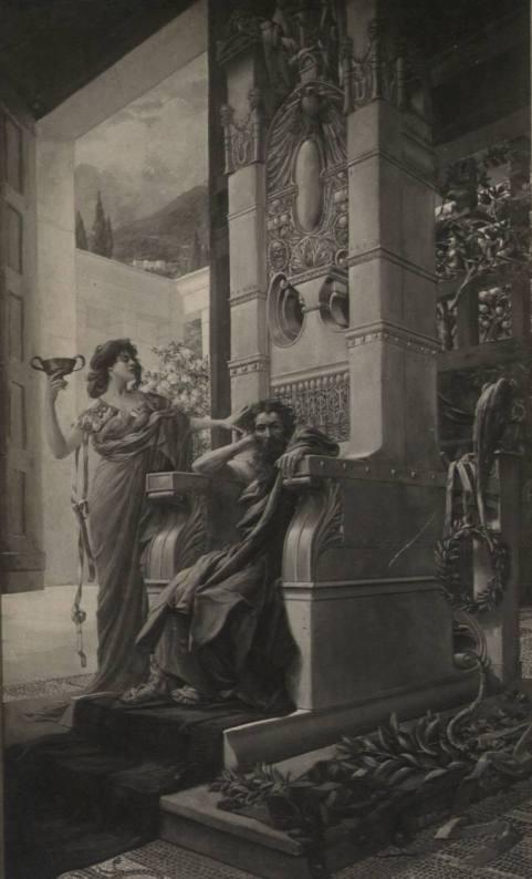 Одиссей и Цирцея