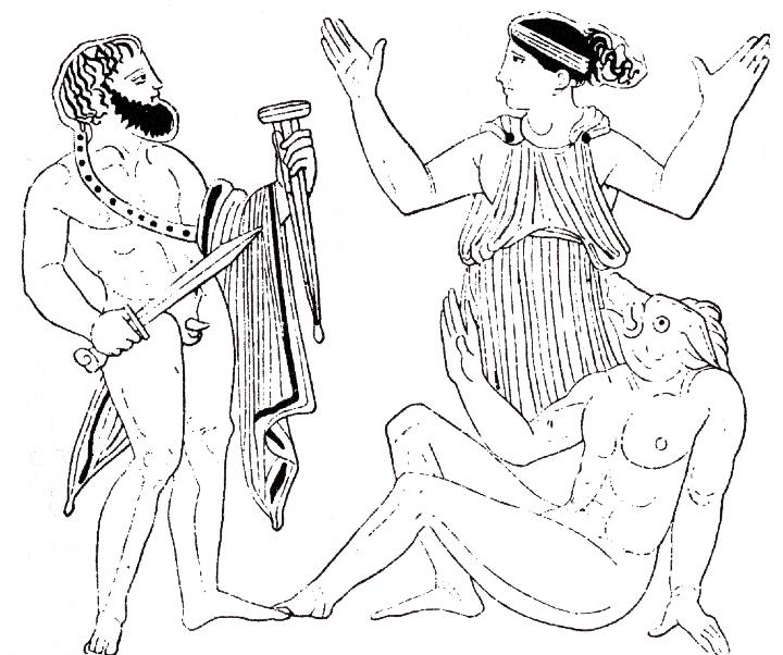Wilhelm Heinrich Roscher - Одиссей и Цирцея