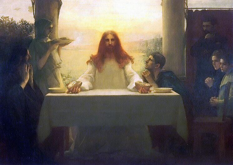 Паскаль Даньян-Буве. Христос в Эммаусе