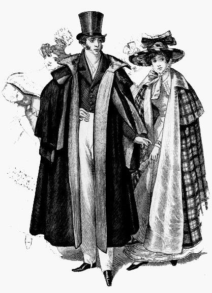Костюмы немецкой аристократии, первая половина 19 века