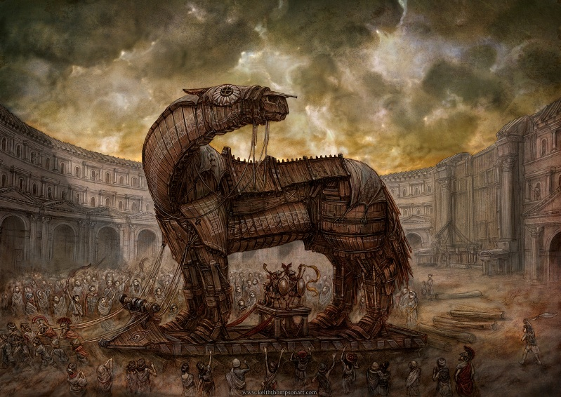Keith Thompson. Троянский конь