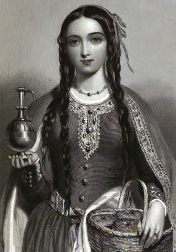 Матильда Шотландская. Рисунок Д. Райта