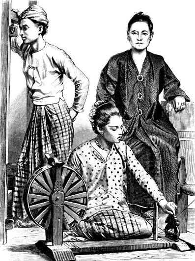 Бирманцы, 19 век