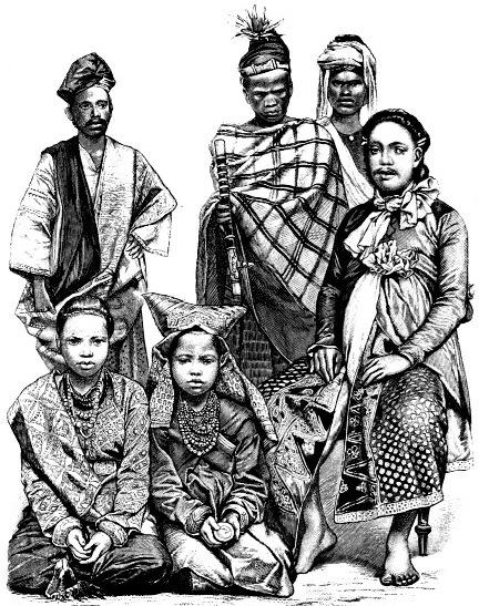 Жители Индонезии
