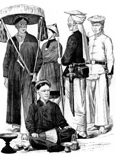 Жители Тонкина (Вьетнам)