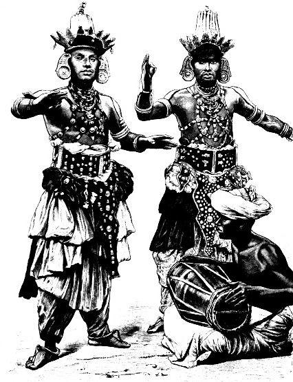 Жители Цейлона, конец 19-го века