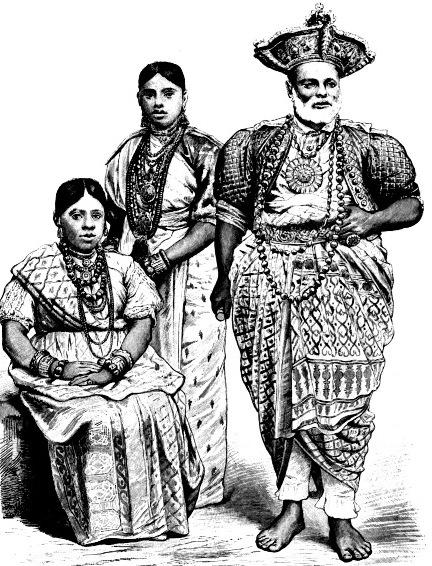 Жители острова Цейлон