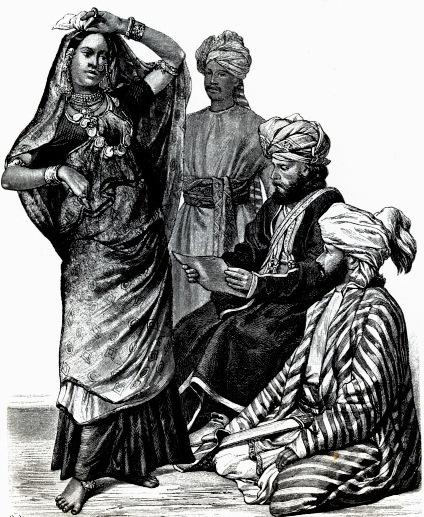 История костюма в иллюстрациях 19 век