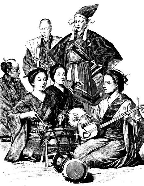 Японцы, 19 век