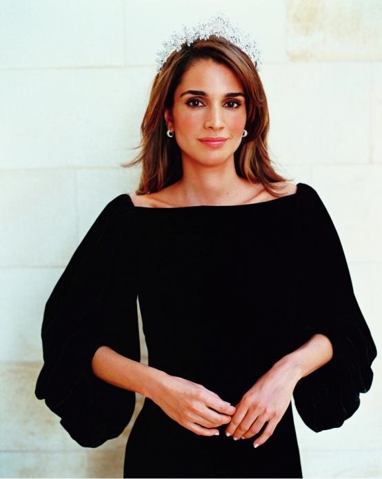 Самая красивая иорданка - королева Иордании Рания. Фото