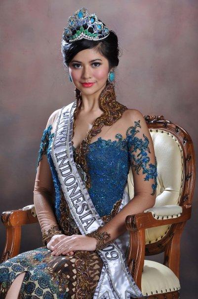 Самая красивая индонезийка - Мисс Индонезия 2009 Qory Sandioriva. Фото