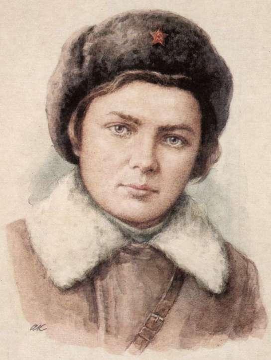 Елена Колесова. Портрет