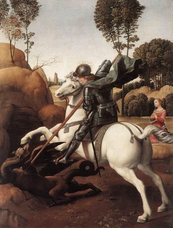 Рафаэль. Святой Георгий и дракон