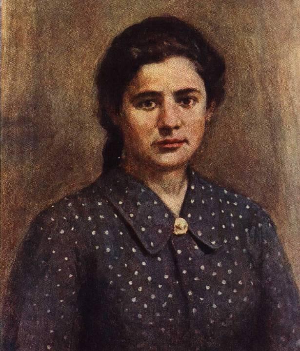 В. Эльманович. Портрет Ульяны Громовой