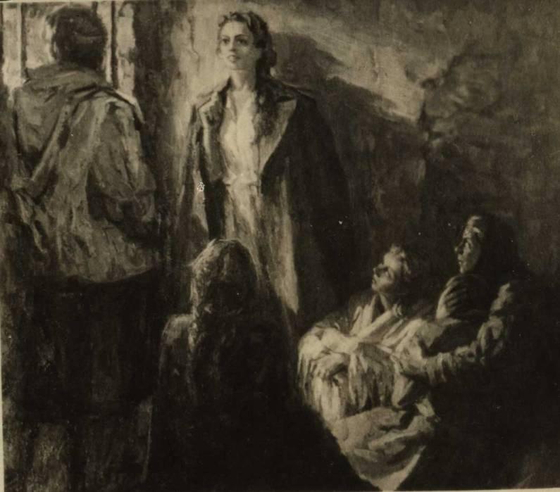 Ульяна Громова читает лермонтовского Демона в камере тюрьмы