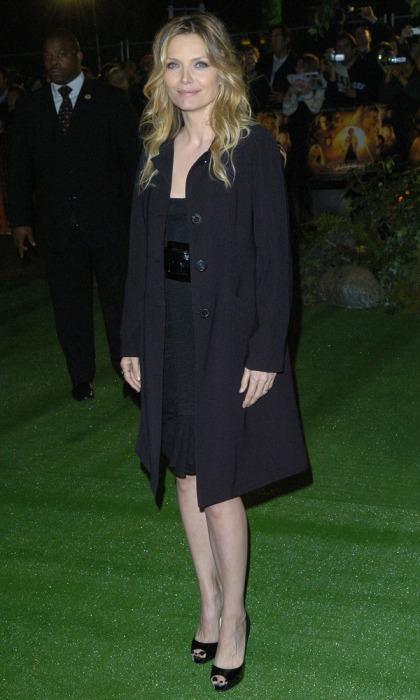 Мишель Пфайффер на премьере фильма Звездная пыль (2007)
